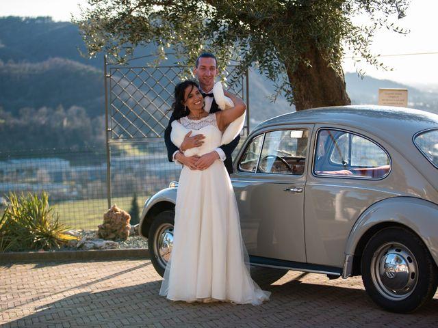 Il matrimonio di Angelo e Hila a Trescore Balneario, Bergamo 55
