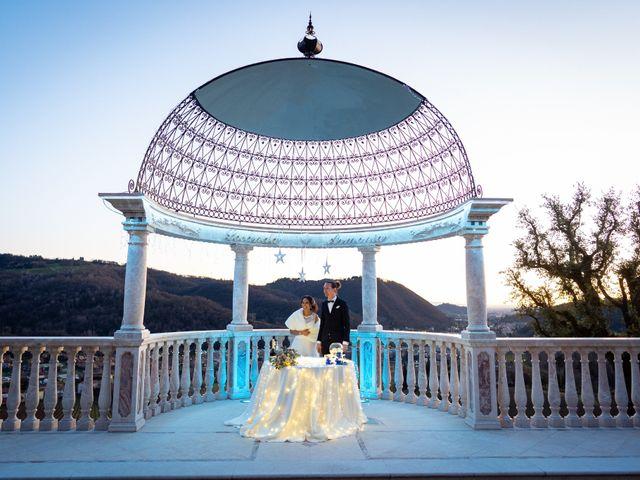 Il matrimonio di Angelo e Hila a Trescore Balneario, Bergamo 63
