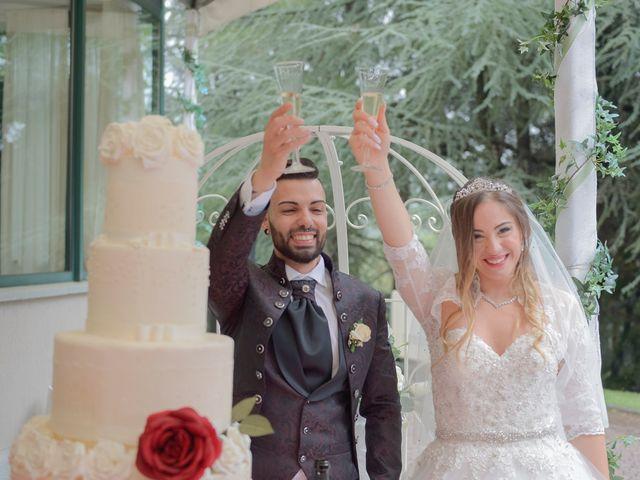Il matrimonio di Moreno e Melissa a Orbassano, Torino 45
