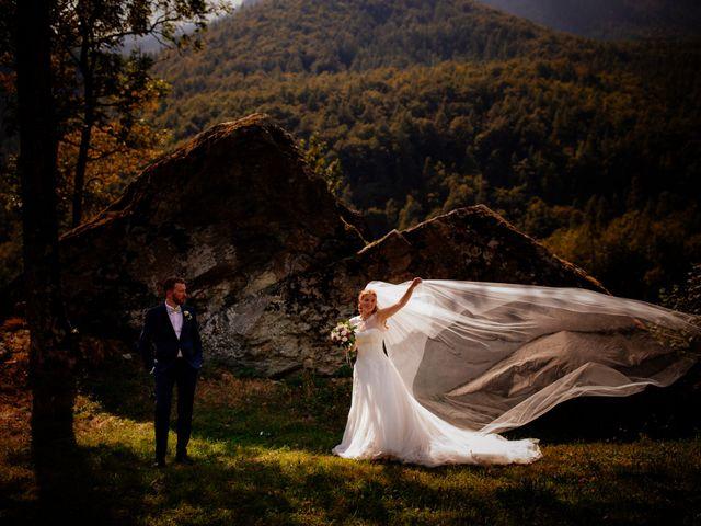 Il matrimonio di Luciano e Alessia a Ala di Stura, Torino 1