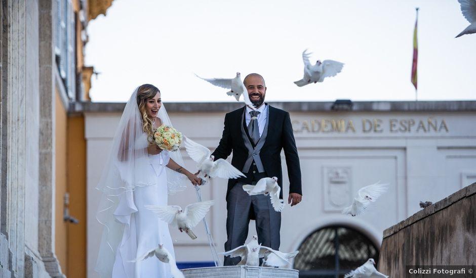 Il matrimonio di Manlio e Deborah a Roma, Roma