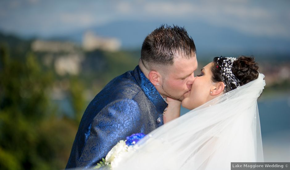 Il matrimonio di Alessandro e Lina a Arona, Novara