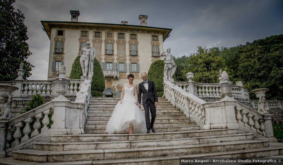Il matrimonio di Francesco e Elena a Pozzo d'Adda, Milano