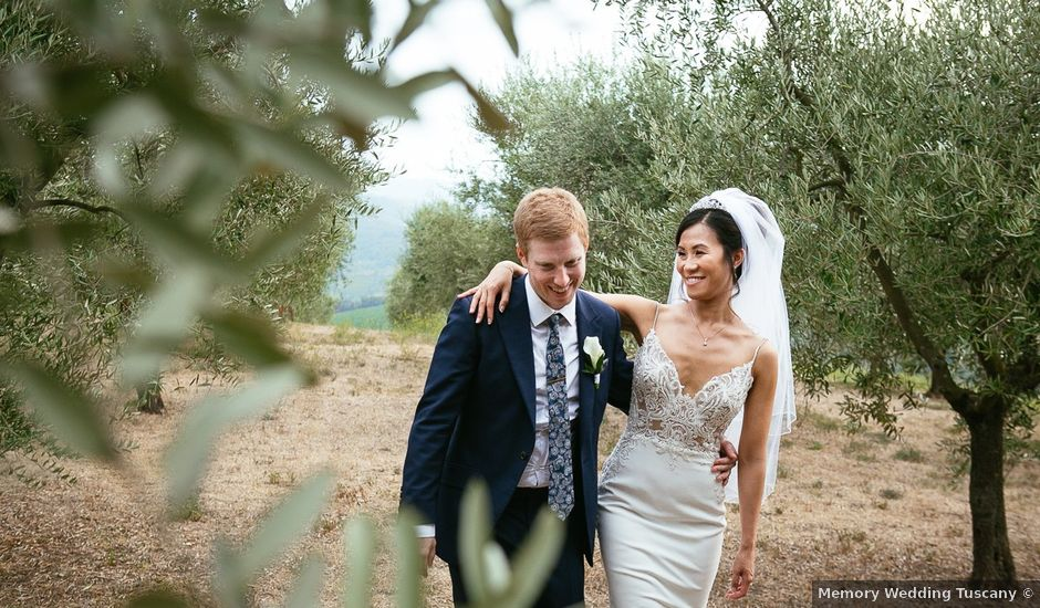 Il matrimonio di Andy e Jessica a Carmignano, Prato
