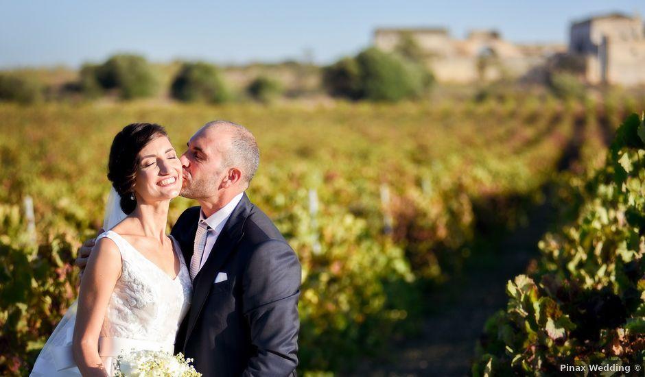 Il matrimonio di Corrado e Letizia a Marsala, Trapani