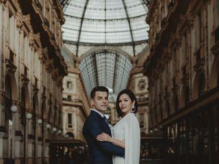 Le nozze di Irina e Ardian
