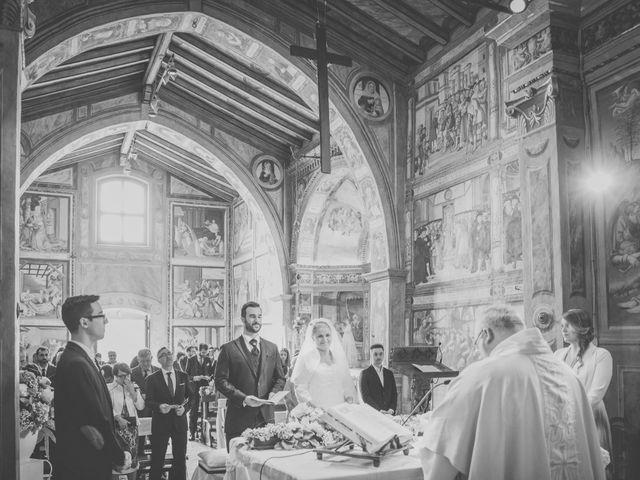 Il matrimonio di Luca e Silvia a Trescore Balneario, Bergamo 43