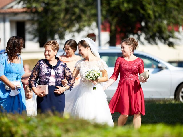 Il matrimonio di Nicola e Federica a Volpago del Montello, Treviso 17