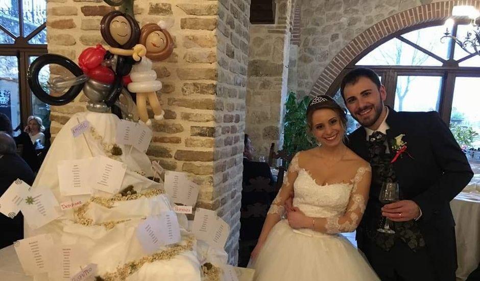 Il matrimonio di Augusto e Giuliana a Celano, L'Aquila