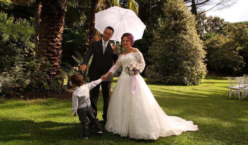Il matrimonio di Simone e Valeria a Grottaferrata, Roma