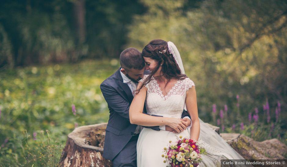 Il matrimonio di Eugenio e Laura a Aldeno, Trento