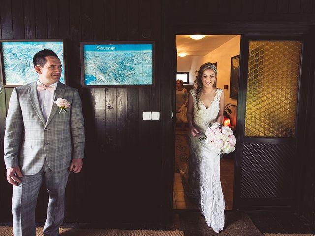 Il matrimonio di Primoz e Sara a Omegna, Verbania 11