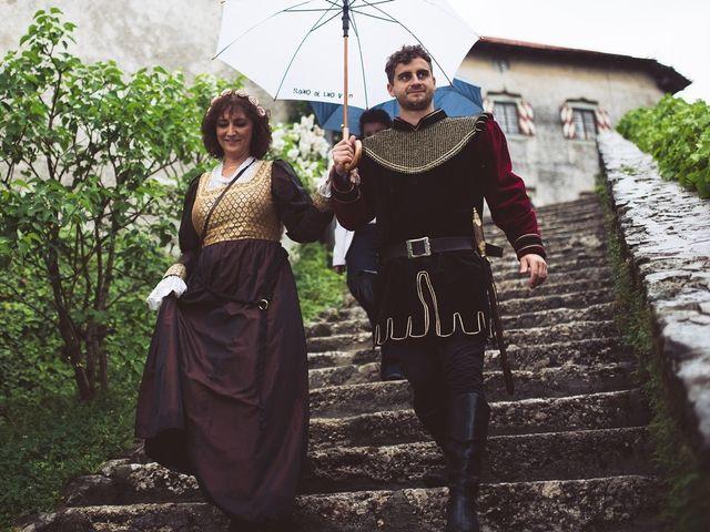 Il matrimonio di Primoz e Sara a Omegna, Verbania 32