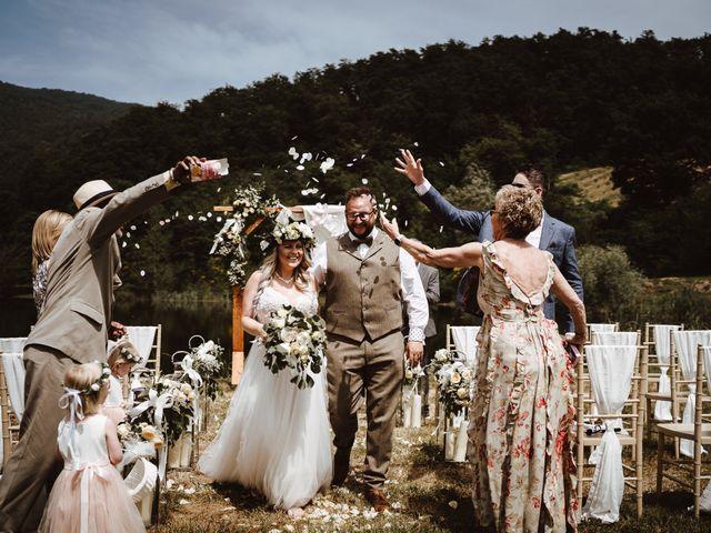 Il matrimonio di Richard e Laura a Sansepolcro, Arezzo 1