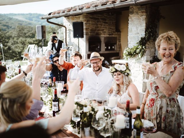 Il matrimonio di Richard e Laura a Sansepolcro, Arezzo 23