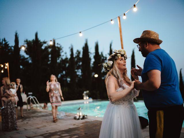 Il matrimonio di Richard e Laura a Sansepolcro, Arezzo 27