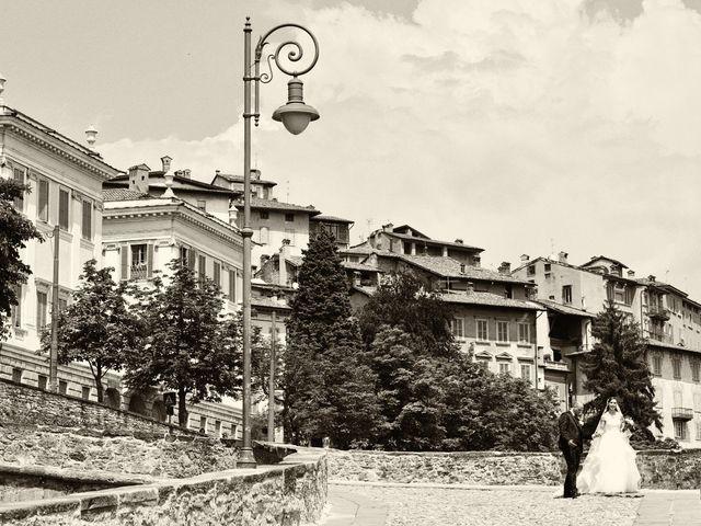 Il matrimonio di Giuliano e Jenny a Bergamo, Bergamo 25