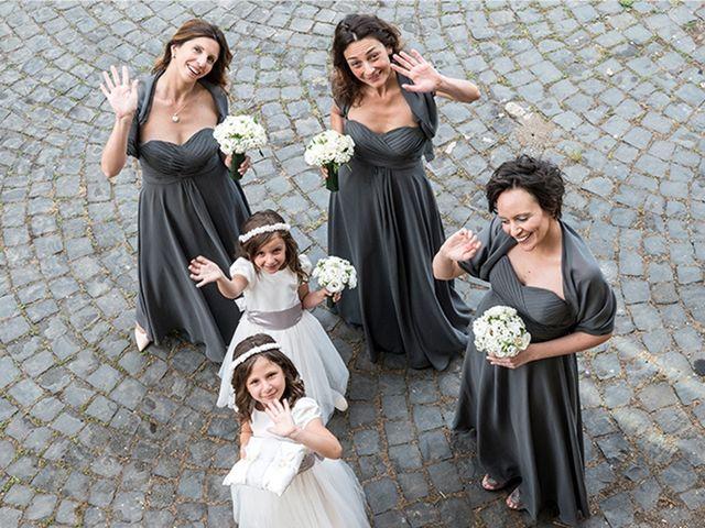 Il matrimonio di Matteo e Francesca a Cerveteri, Roma 11