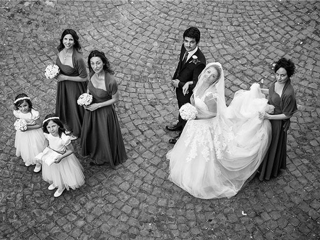 Il matrimonio di Matteo e Francesca a Cerveteri, Roma 17