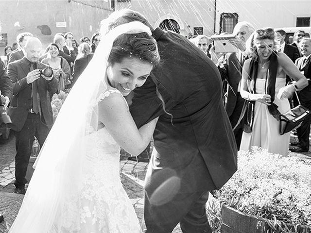 Il matrimonio di Matteo e Francesca a Cerveteri, Roma 34