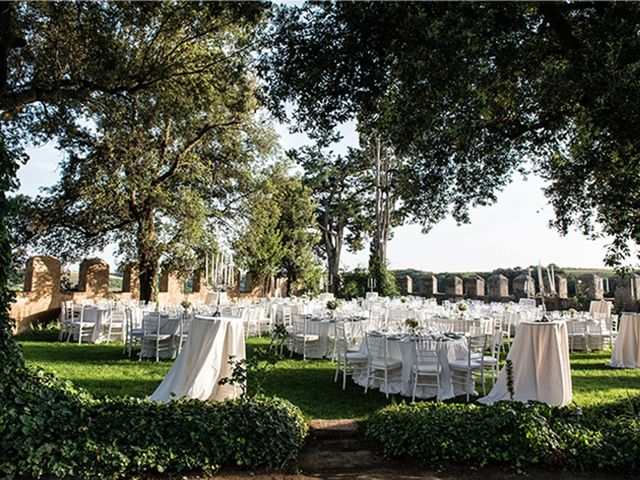 Il matrimonio di Matteo e Francesca a Cerveteri, Roma 38