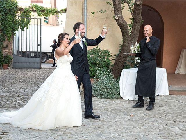 Il matrimonio di Matteo e Francesca a Cerveteri, Roma 39