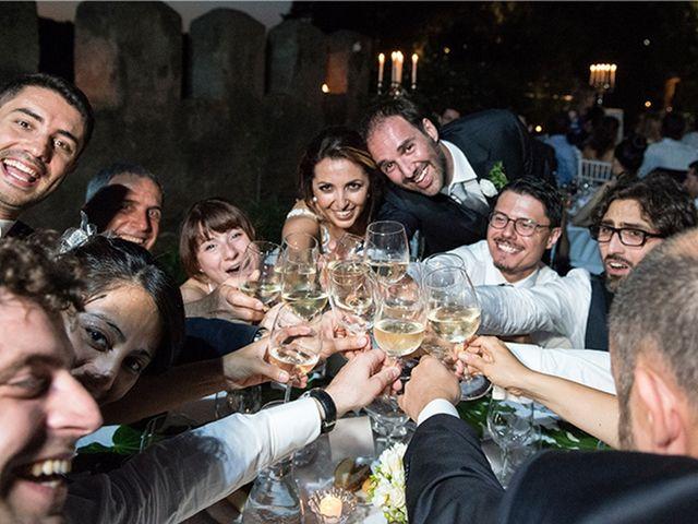 Il matrimonio di Matteo e Francesca a Cerveteri, Roma 52