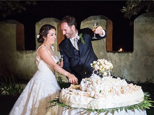 Il matrimonio di Matteo e Francesca a Cerveteri, Roma 53