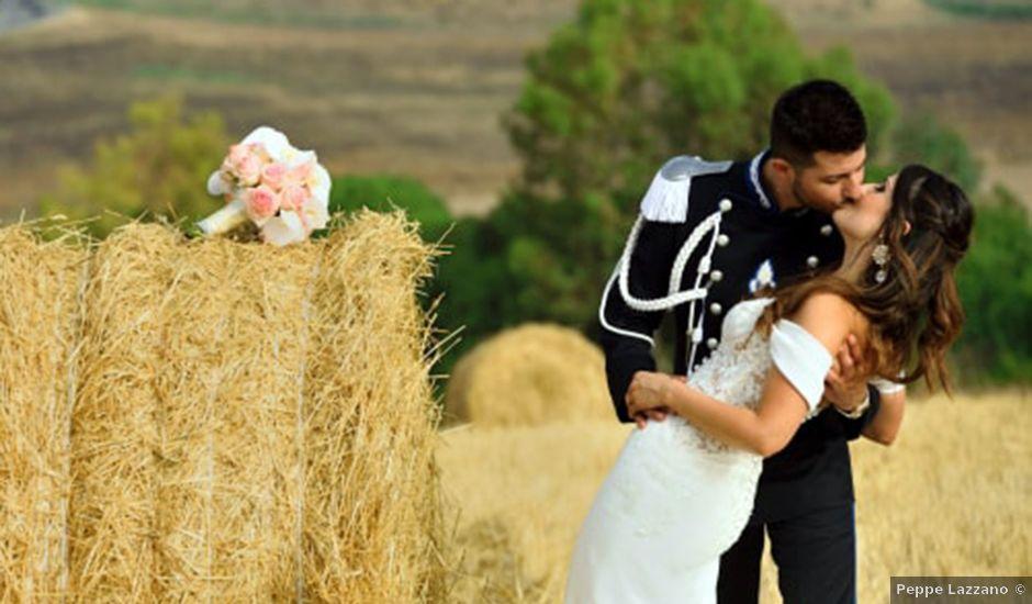 Il matrimonio di Giuseppe e Debora a Naro, Agrigento