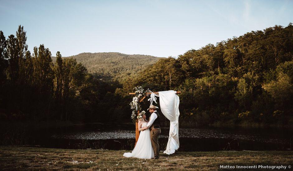 Il matrimonio di Richard e Laura a Sansepolcro, Arezzo