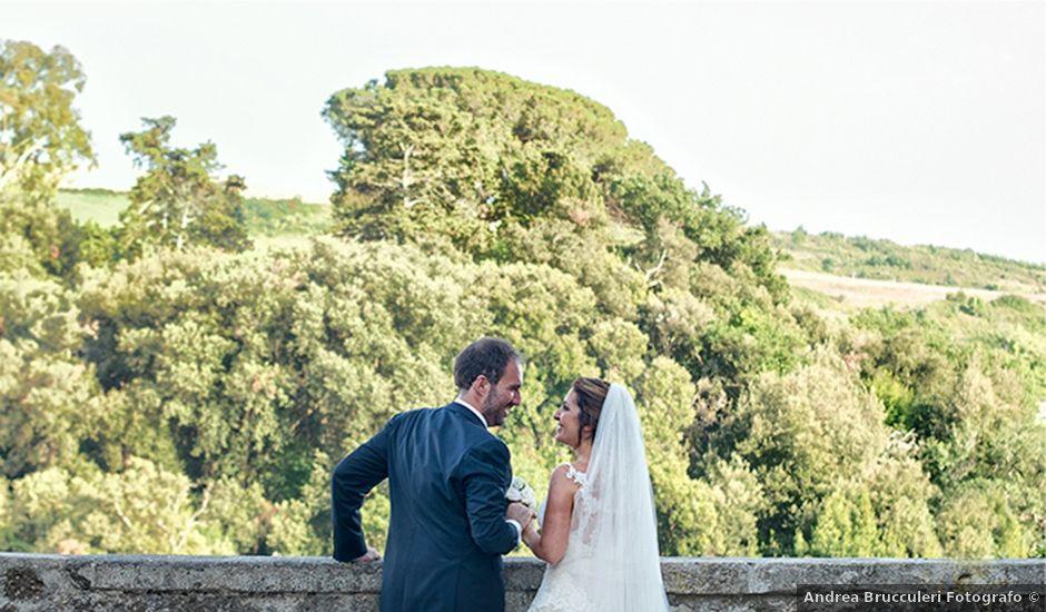 Il matrimonio di Matteo e Francesca a Cerveteri, Roma