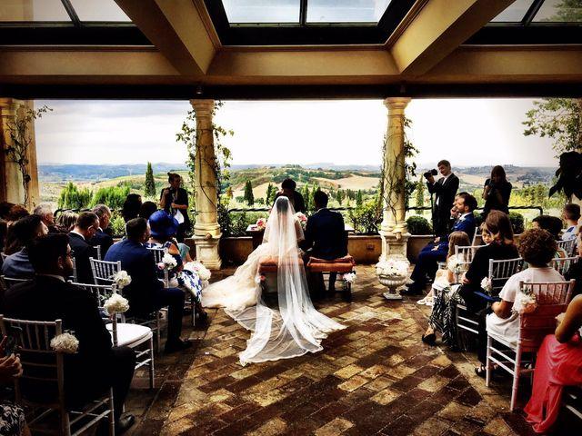Il matrimonio di Gianluca e Elena a Montespertoli, Firenze 15