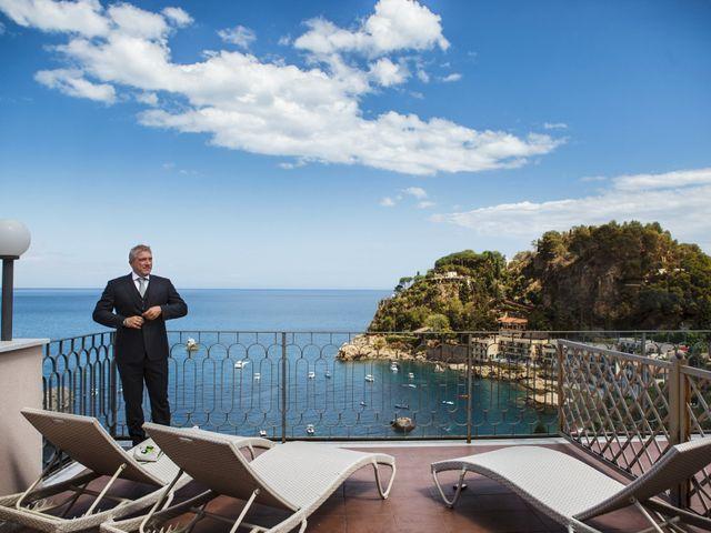 Il matrimonio di Danilo e Fabiana a Taormina, Messina 5
