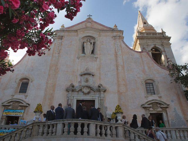 Il matrimonio di Danilo e Fabiana a Taormina, Messina 19