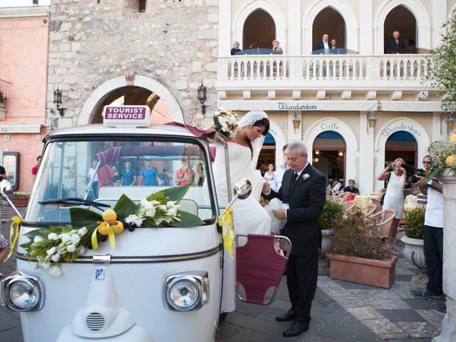 Il matrimonio di Danilo e Fabiana a Taormina, Messina 22