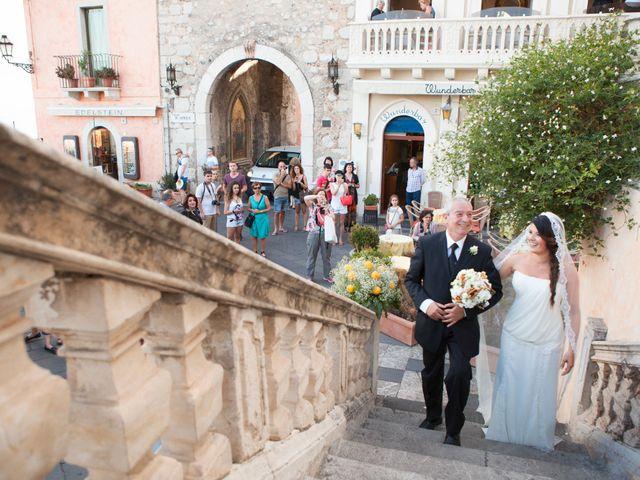 Il matrimonio di Danilo e Fabiana a Taormina, Messina 23