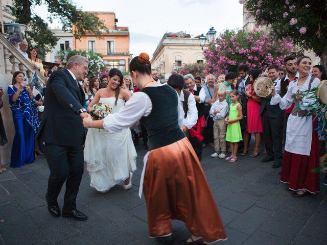 Il matrimonio di Danilo e Fabiana a Taormina, Messina 34