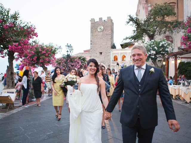 Il matrimonio di Danilo e Fabiana a Taormina, Messina 35
