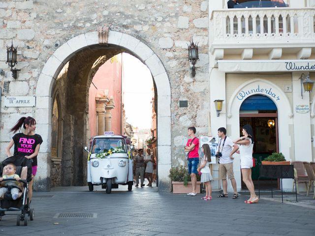 Il matrimonio di Danilo e Fabiana a Taormina, Messina 51