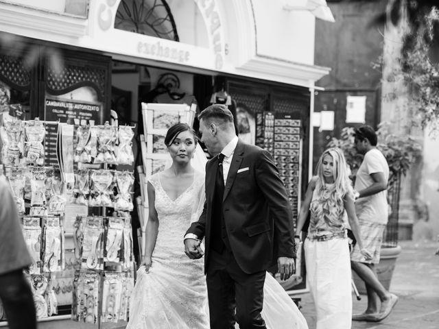 Il matrimonio di Nick e Mani a Positano, Salerno 35
