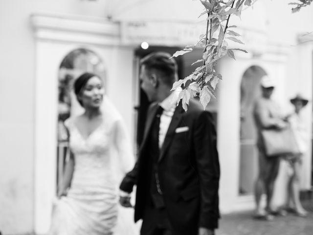 Il matrimonio di Nick e Mani a Positano, Salerno 37