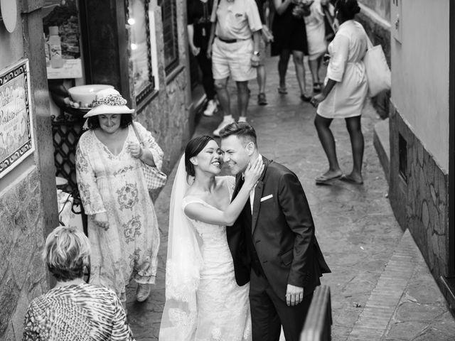 Il matrimonio di Nick e Mani a Positano, Salerno 43