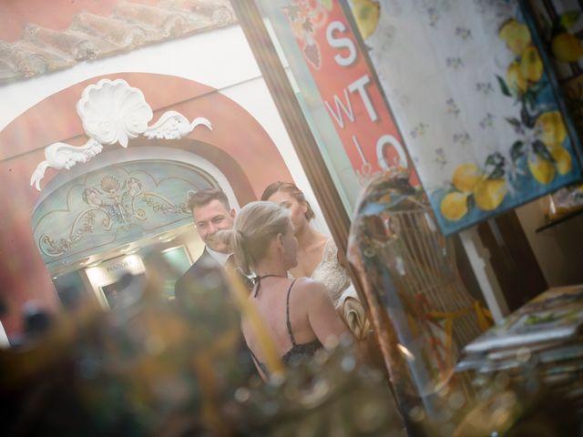 Il matrimonio di Nick e Mani a Positano, Salerno 49