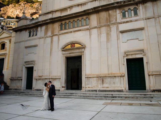 Il matrimonio di Nick e Mani a Positano, Salerno 78