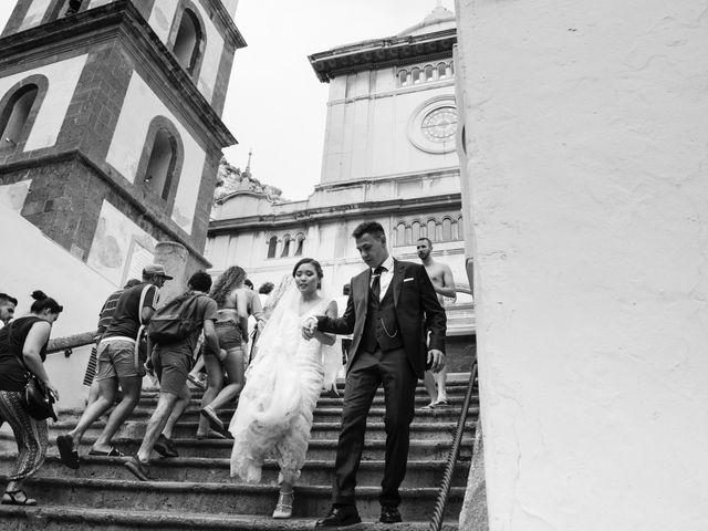 Il matrimonio di Nick e Mani a Positano, Salerno 81