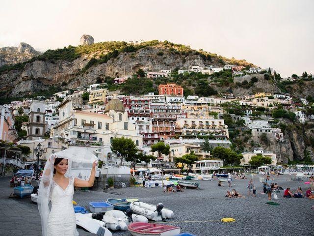 Il matrimonio di Nick e Mani a Positano, Salerno 89