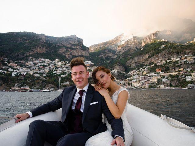 Il matrimonio di Nick e Mani a Positano, Salerno 90
