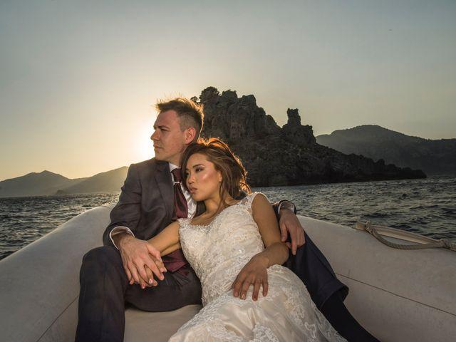 Il matrimonio di Nick e Mani a Positano, Salerno 1