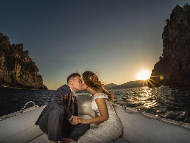 Il matrimonio di Nick e Mani a Positano, Salerno 2