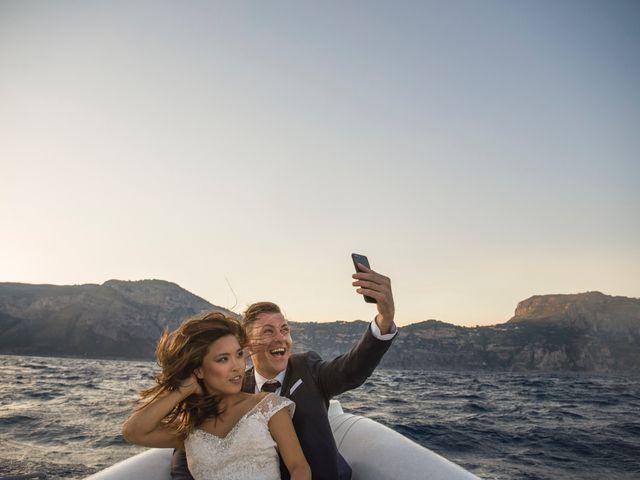 Il matrimonio di Nick e Mani a Positano, Salerno 133